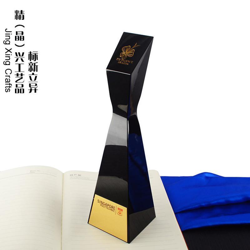 香港奖杯 模型奖杯定制 楼模奖杯制作 水晶订制品