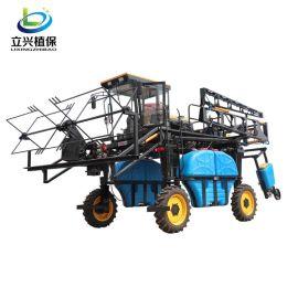 荞麦自走式喷雾机 玉米等高杆作物 高地隙打药机