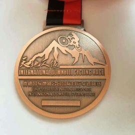 兰州金属奖牌制作金银铜logo勋章定制厂家
