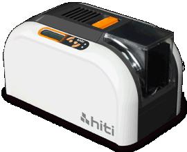 HITI cs200e 呈妍证卡打印机总代理,会员卡打印机彩色双面证卡打印机
