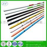 供应广告旗杆 玻璃纤维杆 彩色玻璃纤维杆定做4x7玻璃纤维支撑杆