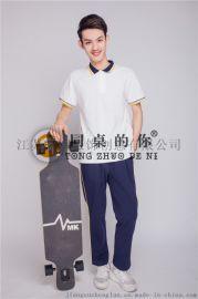 中学生校服夏季**款运动装XY016z大学生校服