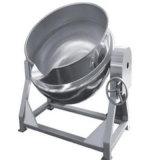 节能环保不锈钢可倾斜带搅拌夹层锅 电加热夹层锅