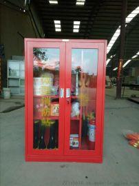 不锈钢消防柜|消防器材存放柜|消防工具展示柜厂家