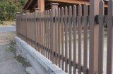 木塑柵欄、木塑圍牆、隔離欄、戶外柵欄