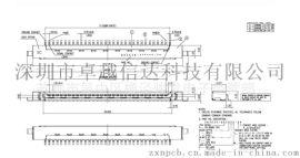 1.0LVDS板上 30针液晶屏接口187024-30091環保材料