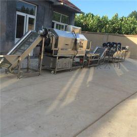 D-5鱼干包装袋油污清洗机设备 鸭翅小包装袋清洗机