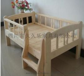成都实木幼儿园家具,**幼儿园床,久久乐幼儿园玩具柜