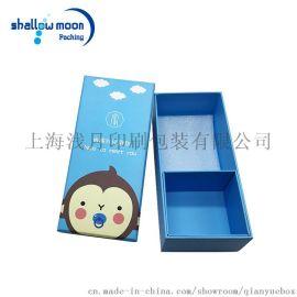 浅月包装 蓝色卡通诞生礼盒