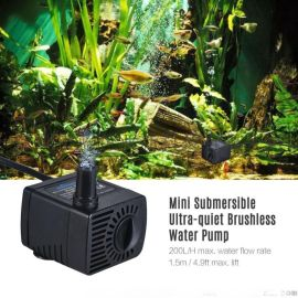 直流潜水泵  鱼缸水族箱过滤泵 蓝鱼变频泵