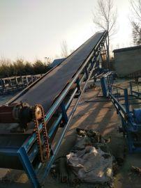 滚筒式输送机加厚防滑式 工业用大倾角输送机