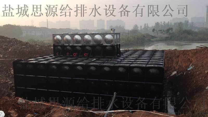 西安抗浮式增压箱泵一体化供水设备