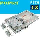 FDB-1分8芯插片式光分路器 FTTH分纤箱
