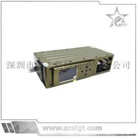 无线音视频数字监控,手持式数字发射机,3-5公里有阻挡视频发射机