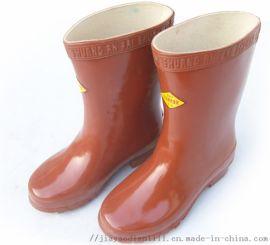 内江电工用绝缘靴 工厂用绝缘鞋 厂家现货供应