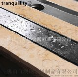 嵌板式不锈钢长地漏 外贸工程长地漏 水封防臭长地漏