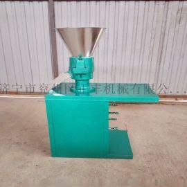 家禽小型饲料颗粒机 全自动秸秆青贮饲料机