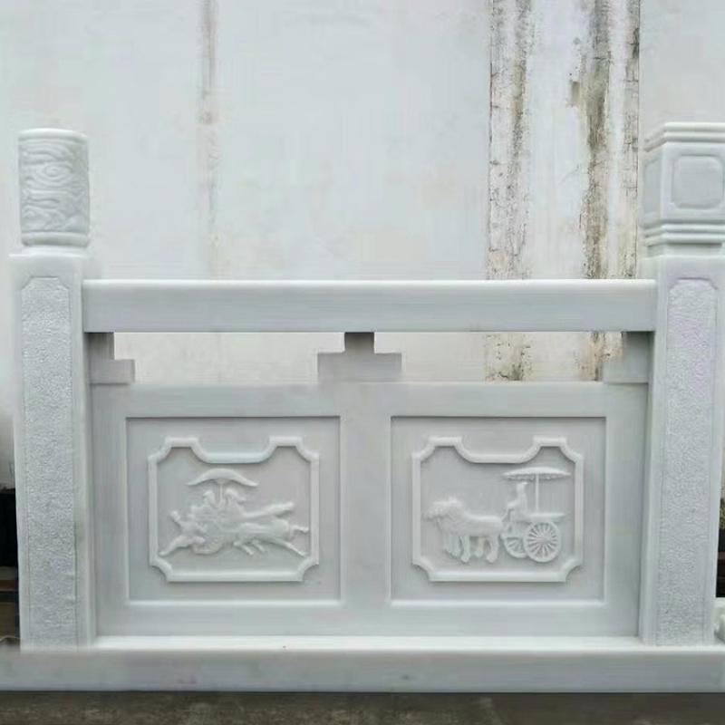 汉白玉石栏杆-汉白玉栏杆价格多少钱一米