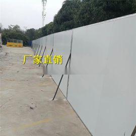 廣西崇左彩鋼夾芯板丨來賓公路圍擋丨河池臨時擋板護欄