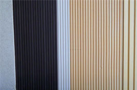胡桃木木纹长城板 黑檀木热转印长城板
