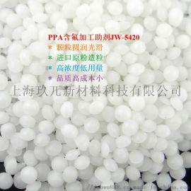 PPA含氟加工助剂减少模口积料消除薄膜鱼眼晶点