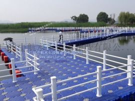 专业生产水上娱乐设施浮筒码头,游船码头,水上浮桥等