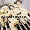 速冻玉米加工设备 真空包装即食玉米清洗蒸煮流水线