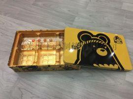 澳门月饼铁盒,六只装月饼铁盒,铁质月饼包装