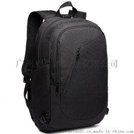 奥兰迪  男双肩包大容量商务旅行包休闲高中学生书包
