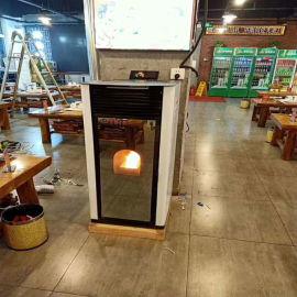 厂家直销家用生物质颗粒取暖炉办公室别墅采暖炉