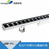 48W双排挡板LED洗墙灯 外置电源设计散热