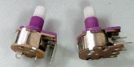 双联电位器
