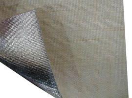 阻燃铝箔布  保温铝箔布   返货铝箔布  隔热铝箔防火布