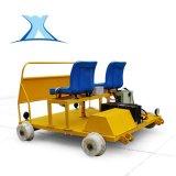 地鐵檢修車輕型便捷適用於各種型號軌道鋰電池供電鐵軌車