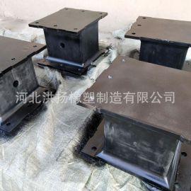 生產供應 鋼板夾層橡膠彈簧 橡膠鋼板剪切彈簧 鋼板橡膠復合彈簧