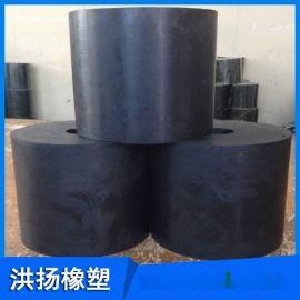 实心圆形橡胶减震块 高强度橡胶减震器 缓冲橡胶胶柱