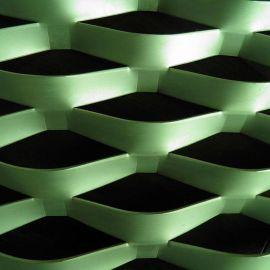 喷塑铝板网 阳极氧化铝网 铝板装饰网