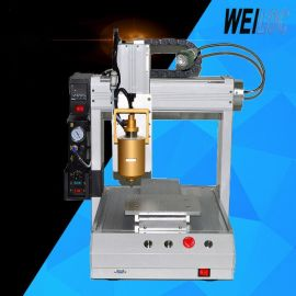 精密三轴PUR热熔胶点胶机 自动工业视觉灌胶机 桌面旋转打胶机