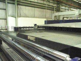 塑料双向拉伸格栅设备/生产线