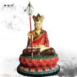 厂家直销 玻璃钢彩绘地藏王神像 站像地藏菩萨佛像