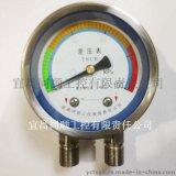 厂家供应测量空气的不锈钢差压表