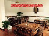 田园桌椅厂家定做复古桌椅板凳家具