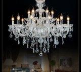 欧式水晶吊灯 客厅现代简约餐厅卧室蜡烛复式奢华大气LED灯具灯饰