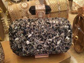 2015时尚品牌女箱包包晚宴包烫胶网钻水钻贴配饰 手机壳水晶贴