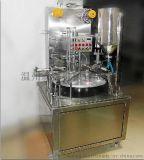 厂家直销定制圆盘自动定量灌装封口机奶茶灌装封口机酸奶灌装封口机