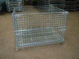 轻型网箱 工业金属周转箱定制 金属物流周转箱 瓶胚仓储笼
