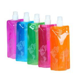折叠水袋 户外 水杯 可定制logo 环保 运动 厂家直销 水壶 PE