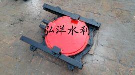 法兰铸铁圆形闸门 供应泵站闸门启闭机