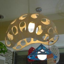 玛斯欧MASO树脂吊灯艺术蚕壳昆虫造型白款灯罩单头E27旋转节能暖光球泡MS-P1014现代餐厅吊灯