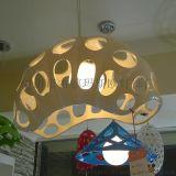 瑪斯歐MASO樹脂吊燈藝術蠶殼昆蟲造型白款燈罩單頭E27旋轉節能暖光球泡MS-P1014現代餐廳吊燈